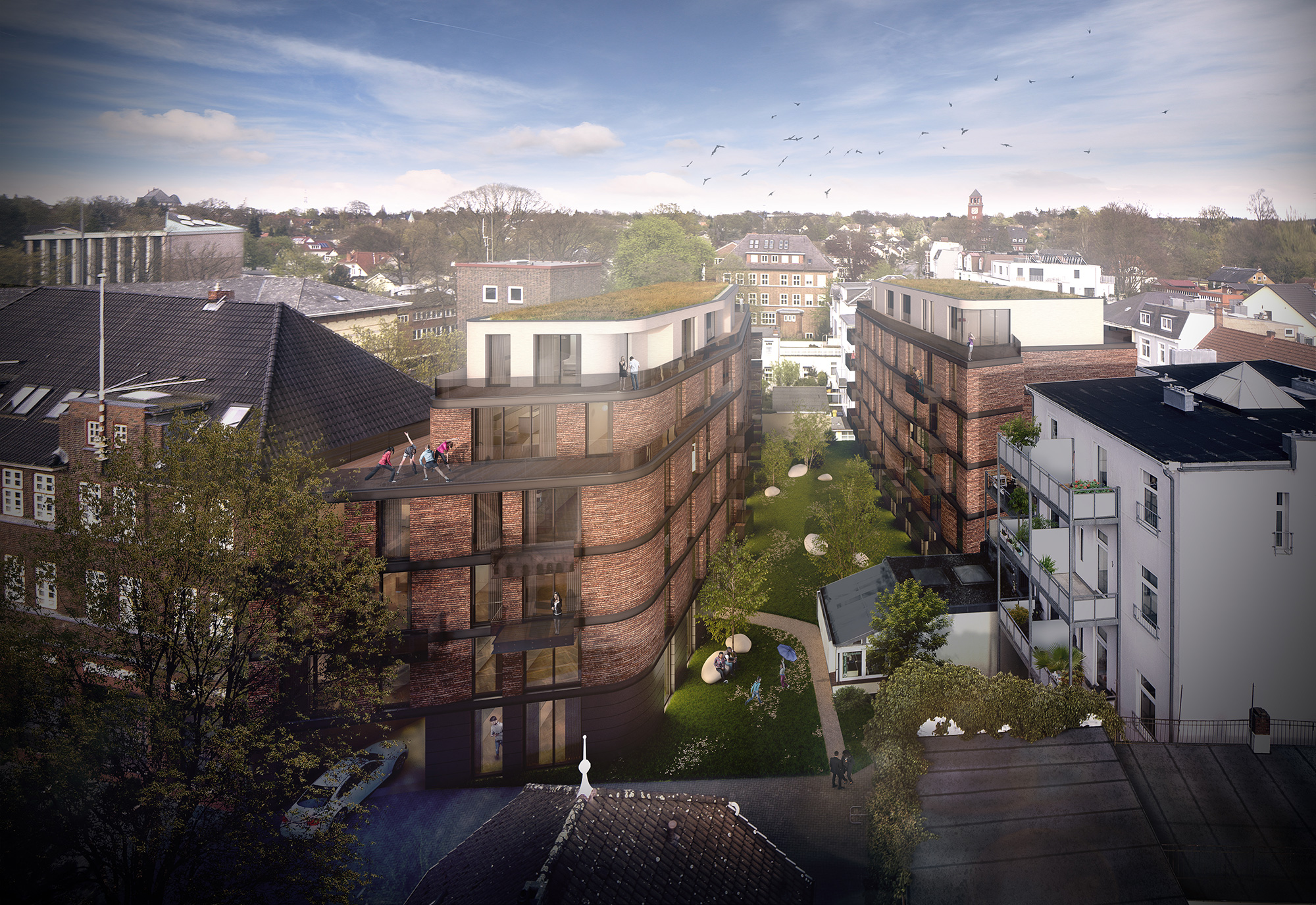 Wohnungsbau Bergedorf