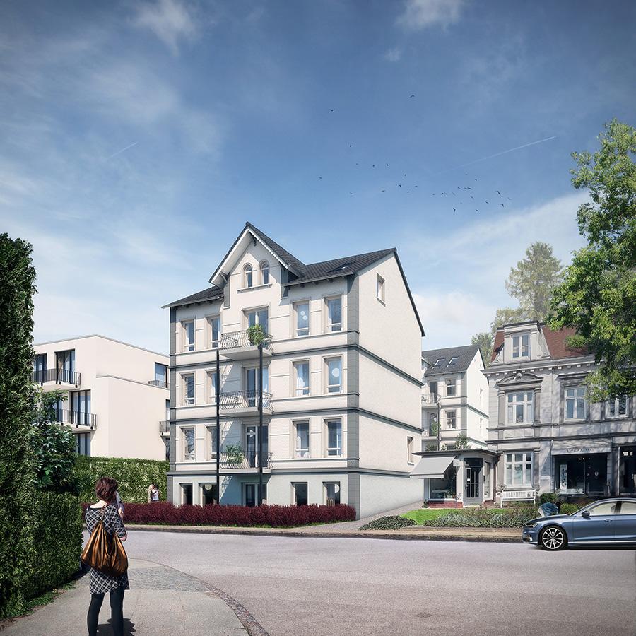 Flottbeker Zwillinge by Querkopf Architekten