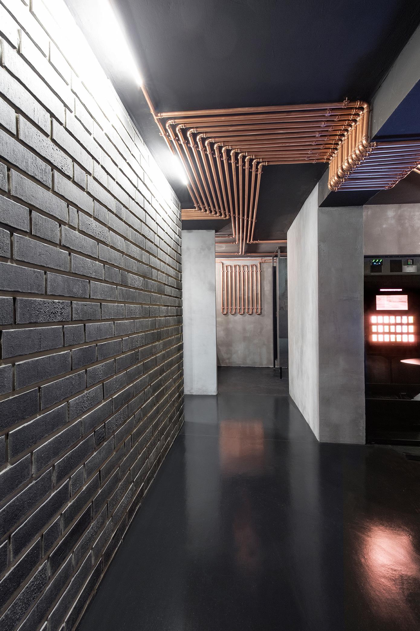 Kupferleitungen Clubdesign