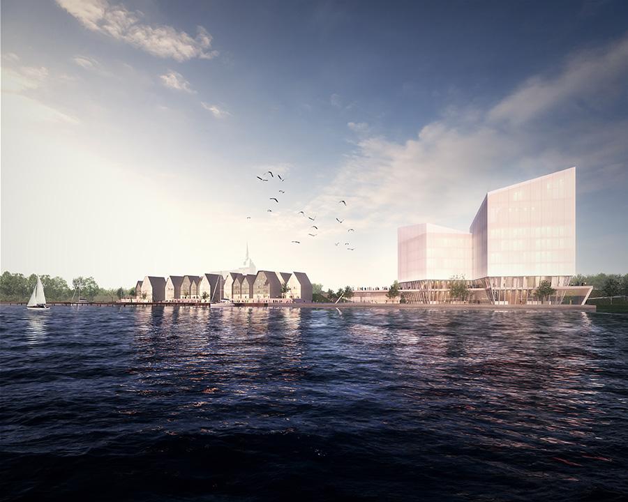 Wettbewerb Obereider Hafen