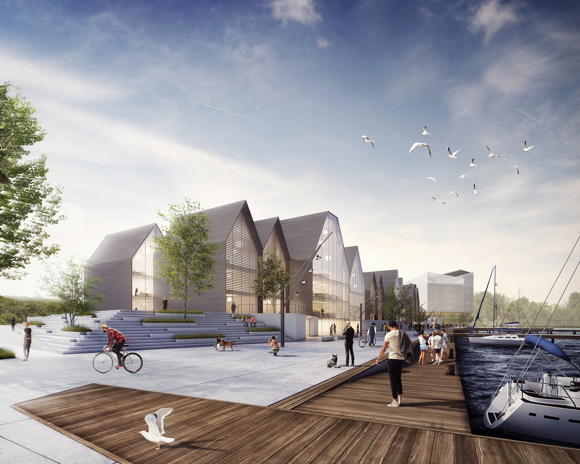 Wettbewerb obereider hafen querkopf architekten - Querkopf architekten ...