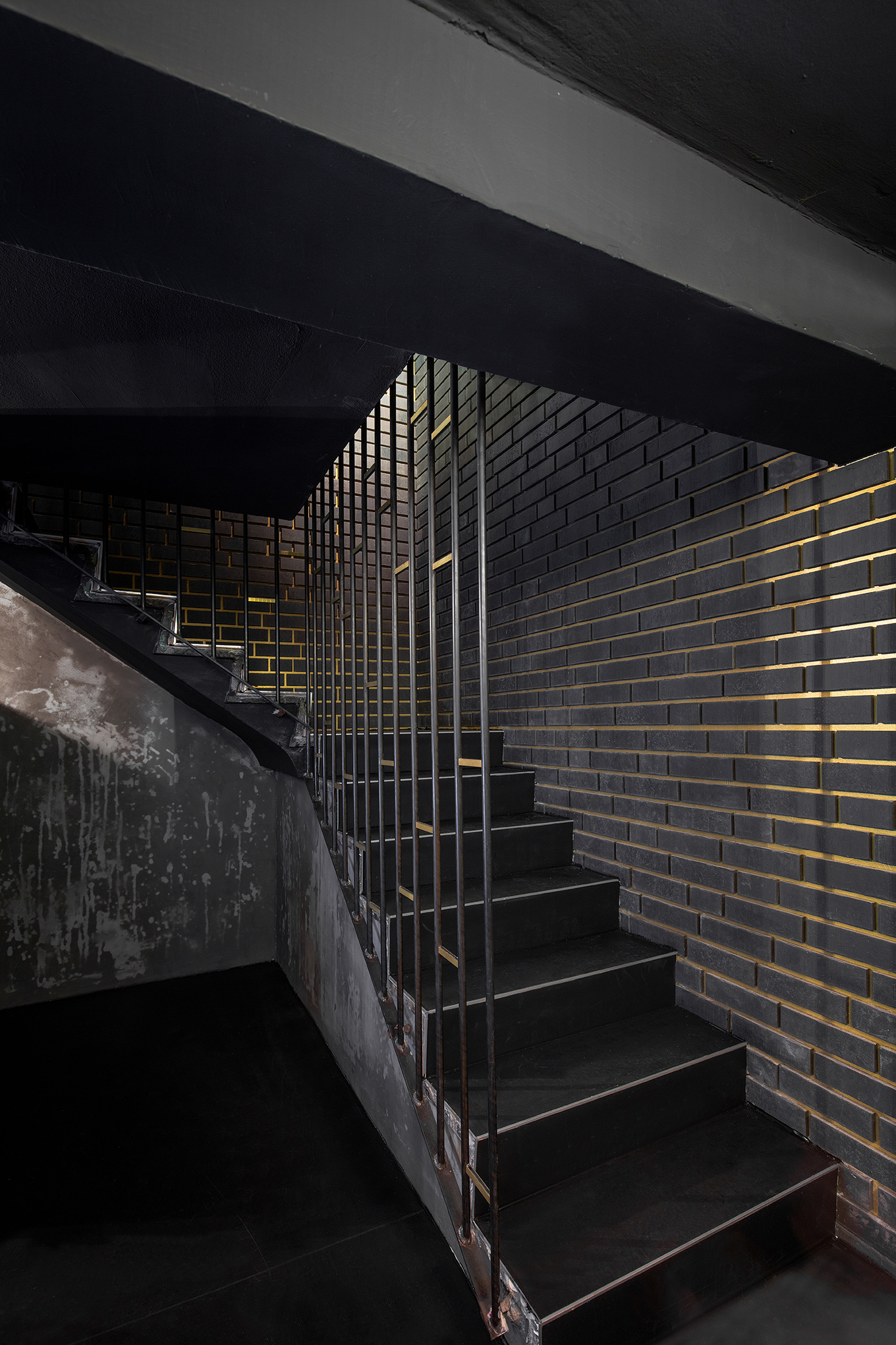 Treppe Industrial Style