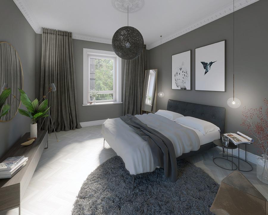 Vorderhaus Schlafzimmer