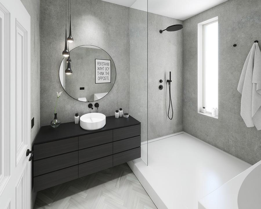 Vorderhaus Badezimmer