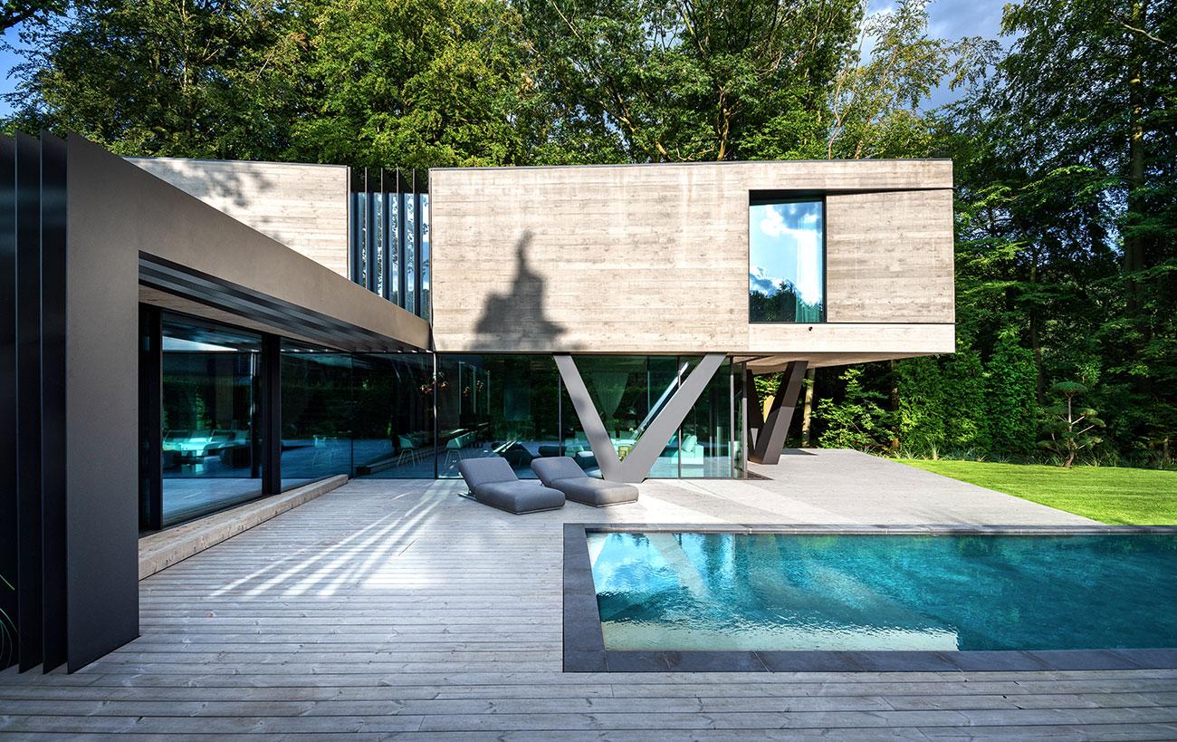 Villa NEO | Sichtbeton Villa by Querkopf Architekten